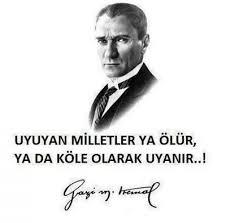 Atatürk'ün gençliğe hitabesi ve sözleri