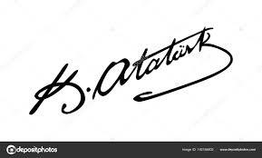 Atatürk'ün imzası