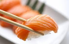 Balık yemek çeşidi Somon lu Sushi