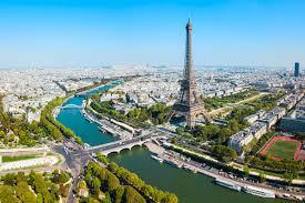 Romantik şehir Paris