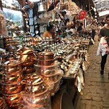 40'dan sonra gezdiğim Gaziantep Bakırcılar Çarşısı