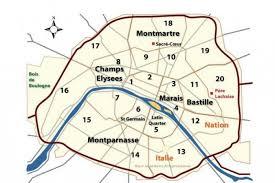 Romantik Şehir Paris ve 20 Zone
