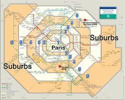 Paris Ulaşım Zone Haritası