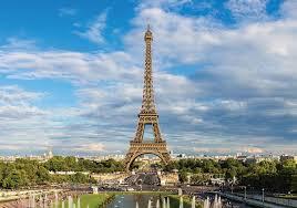 Romantik Şehir Paris ve Kulesi