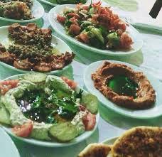 Humus, Muhammara, Kekik salatası