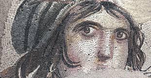 40'dan sonra gezdiğim Zeugma Müzesi Mozaik