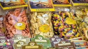 Venedik'ten Ravioli ve Makarna alabilirsiniz