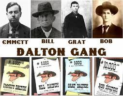 ABD Kansas'daki Dalton Çetesi