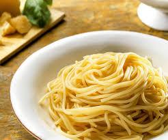 Al Dante Cooked Spaghetti
