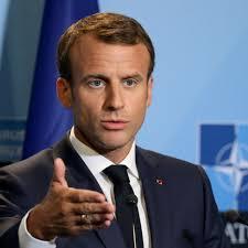Fransa gerginliği Aktörlerinden Macron