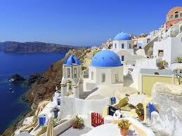 Yunan adaları ve Santorini