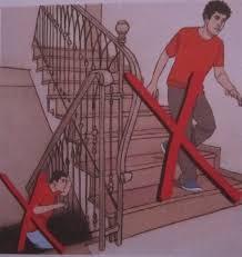Depremde Merdiven Kullanmayın.