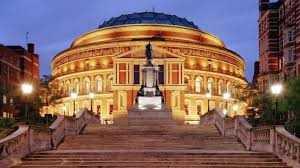 40'dan önce ve 40'dan sonra Londra Royal Albert Hall