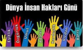 İnsan hakları evrensel bildirgesi.