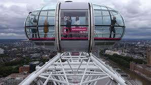 London Eye Kabini Zirve Noktada