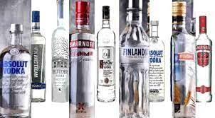 Alkollü içecekler ve Votka ve çeşitleri.