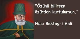 Hacı Bektaş-ı Veli Sözleri