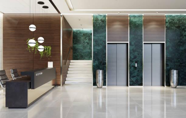 Ortak kullanım alanları asansör ve koridorlar