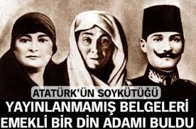 Atatürk soy ağacı ve belgeleri kitabı