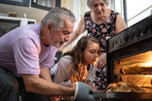 Büyükanneler ve büyükbabalar ile zaman geçirmek