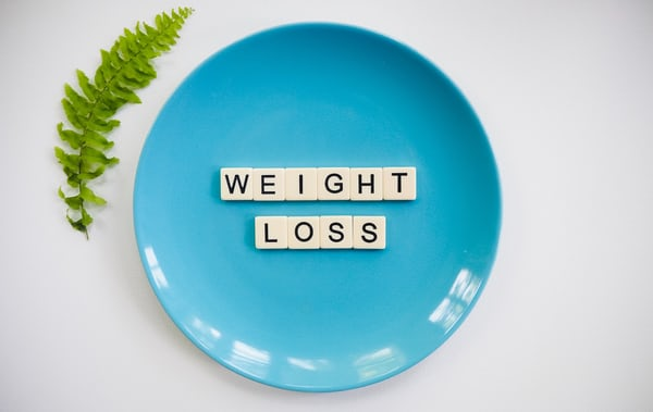 Weight loss after diet