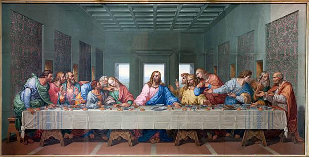 Leonardo da Vinci ve Son yemek resmi