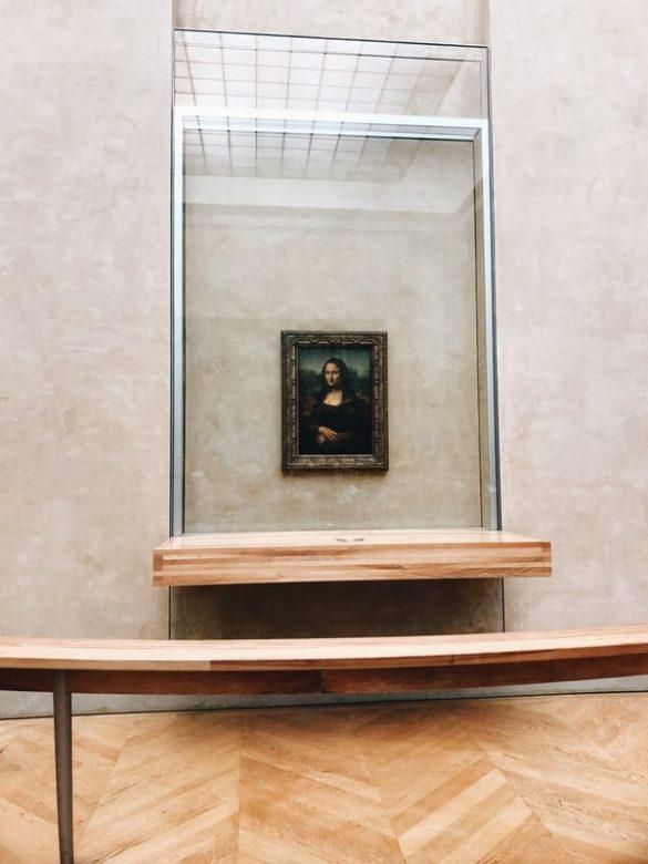 Mona Lisa Resmi Louvre Müzesi