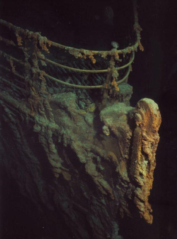 Titanik'in deniz altındaki fotoğrafı