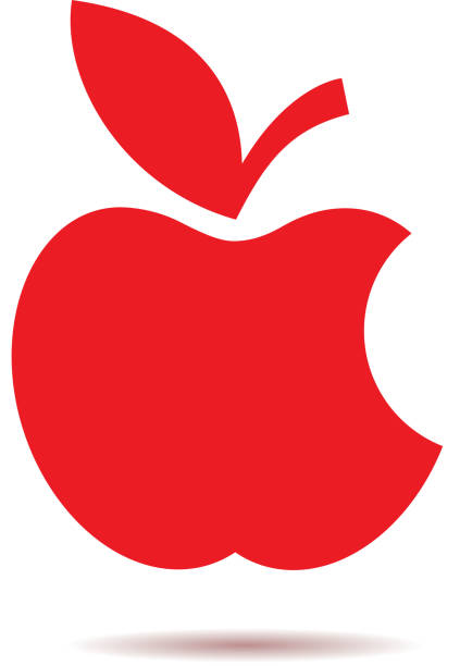 Apple ısırılmış elma logosu