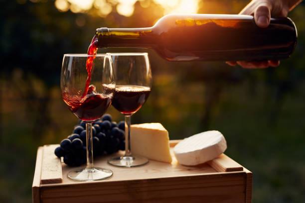 Kırmızı şarap ve peynir eşleşmesi