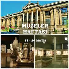 Müzeler haftası ve müzeler sanal turu