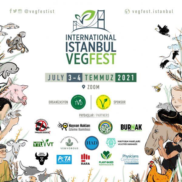 Istanbul VegFest 2021 Logo
