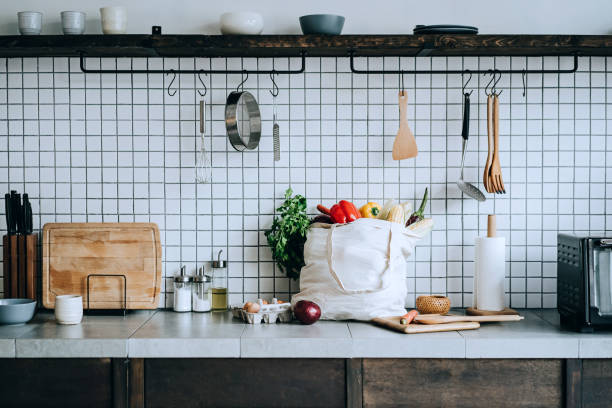 Mutfak tezgahında yeterli alan