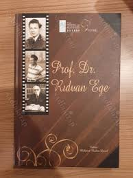 Prof. Dr. Rıdvan Ege kitabı Nadir kitaptan