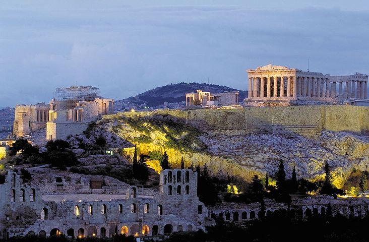Yunanistan Atina Olimpiyatların başlangıcı