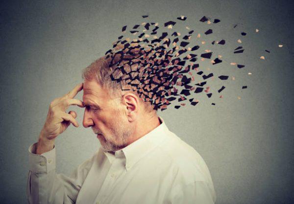 Yaşlı bir insanın beyni